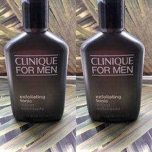 Clinique men's exfoliating tonic